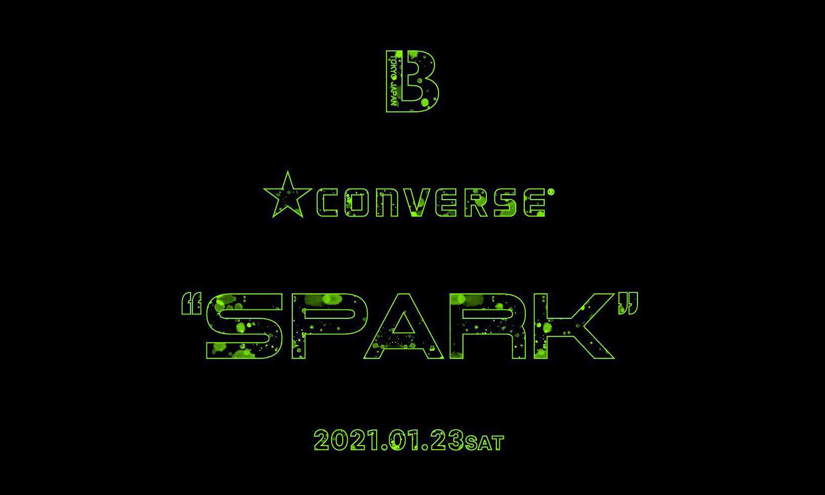 BILLY'S x CONVERSE 全新「Spark」联乘企划公开