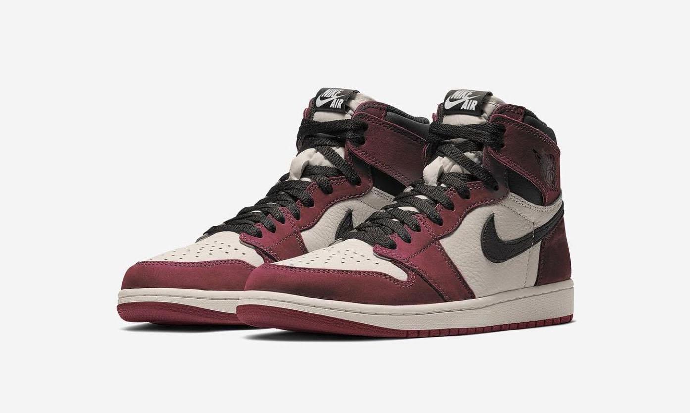 Air Jordan I「Burgundy Crush」将在今年发售