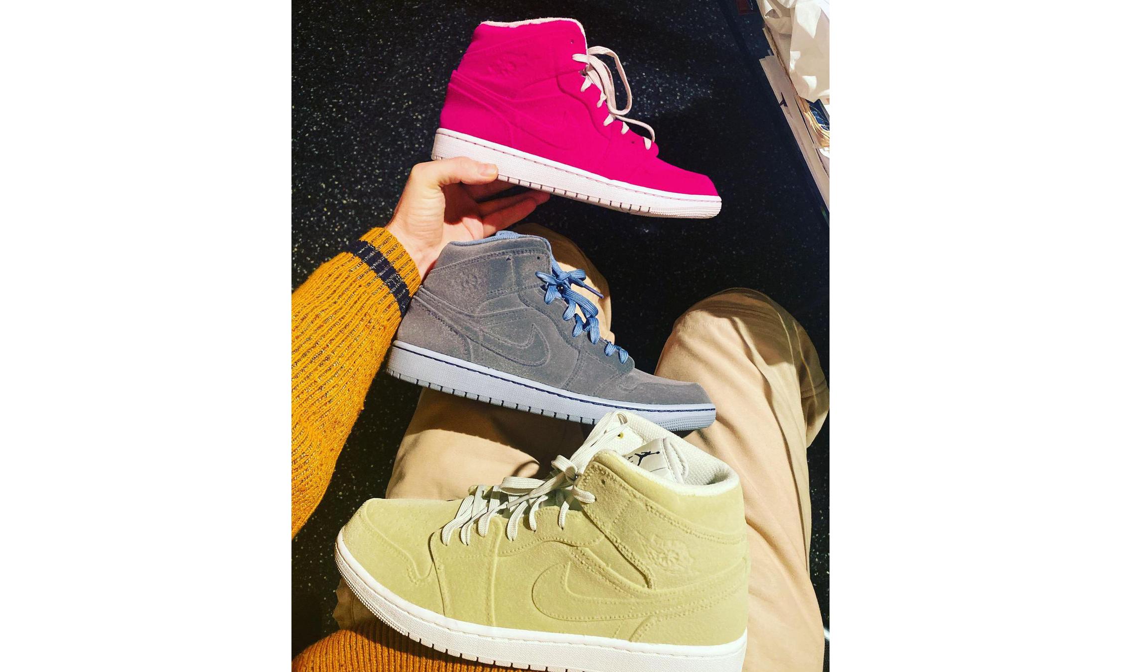 抢先预览 Pigalle x Air Jordan I