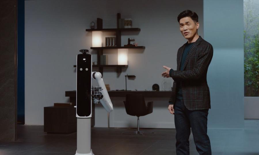 全方位照顾你的生活起居,三星推出最新家用机器人
