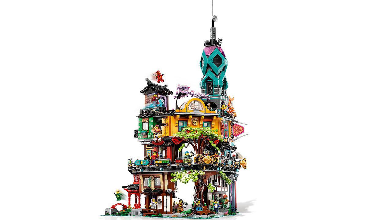 LEGO 71741 NINJAGO® 城市花园套装即将登场