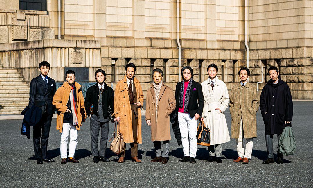 一件西装,日本人可能有一百种搭法…