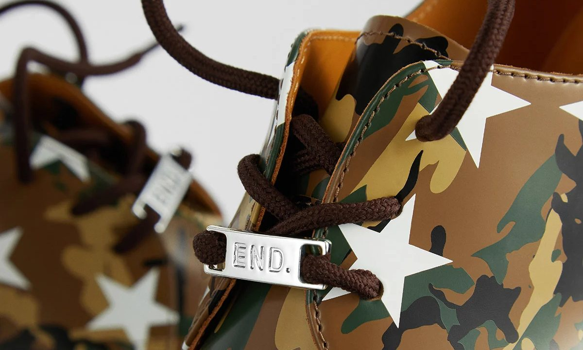 SOPHENT x END. x Dr.Martens 推出 1461 联乘鞋款