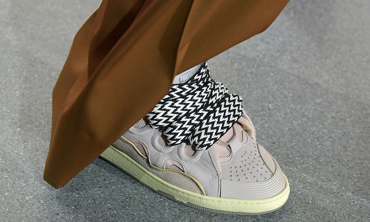 LANVIN 爆款运动鞋背后,代表着一种设计语言…