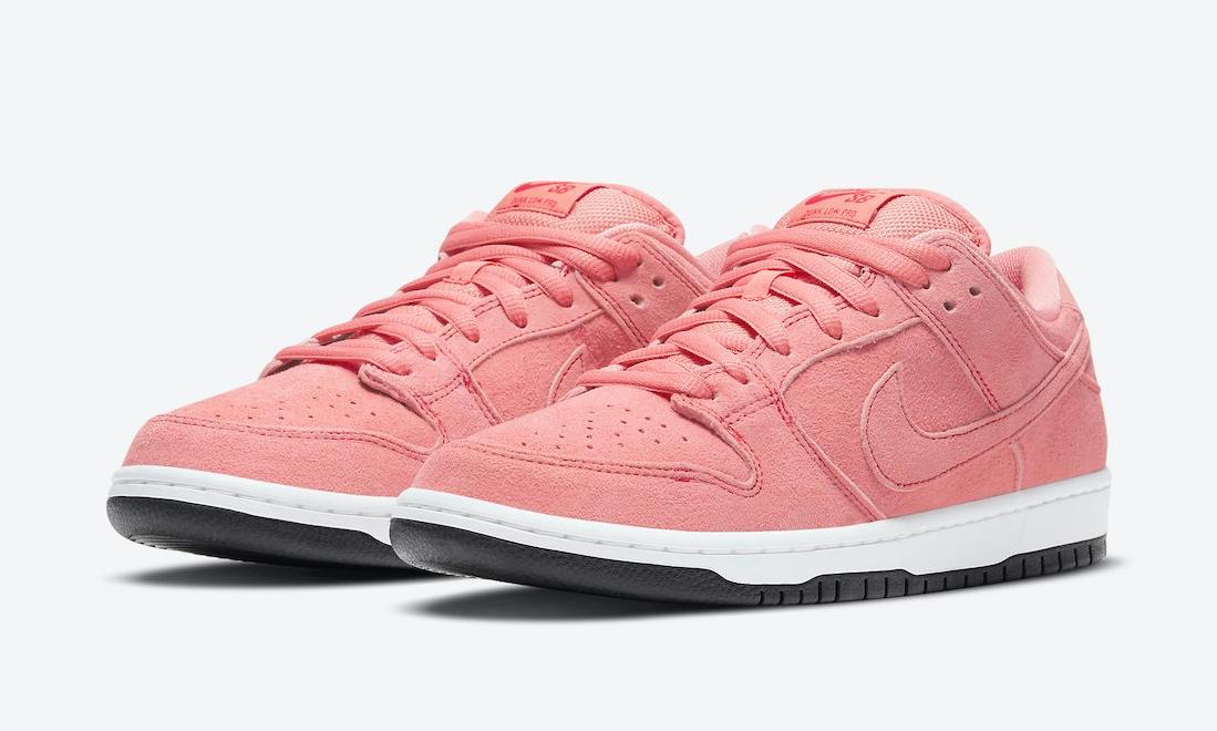 Nike SB Dunk Low「Pink Pig」官图释出