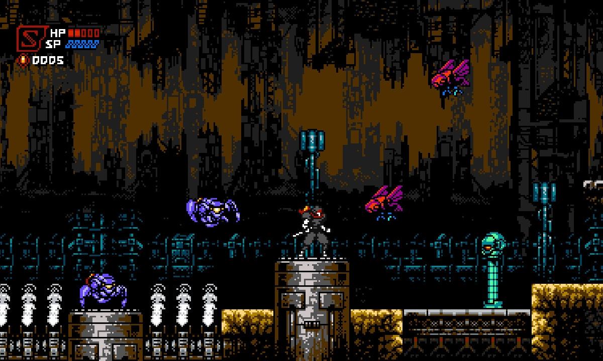 像素动作游戏《Cyber Shadow》将于本月降临 Switch