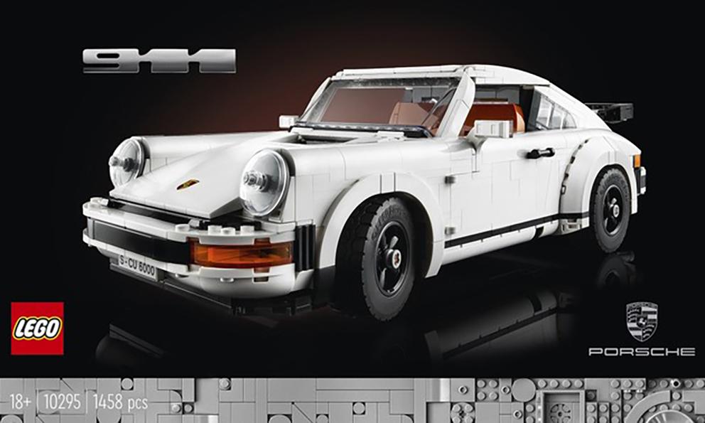 LEGO 10295「保时捷 911 」套组即将发布