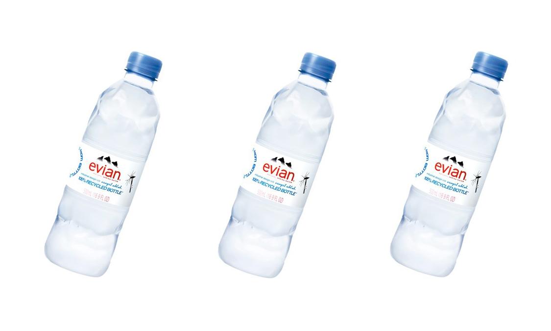 由 Virgil Abloh 设计瓶身,全新版本 Evian 将于三月正式上架