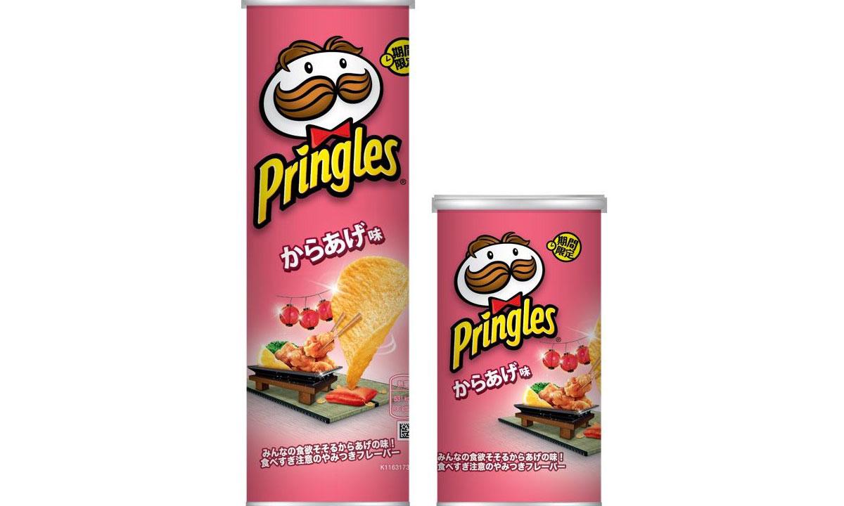 品客日本打造限定和风炸鸡口味薯片