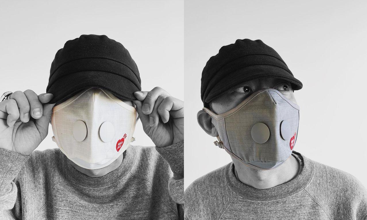 Airinum x HUMAN MADE 联名限量口罩正式开售
