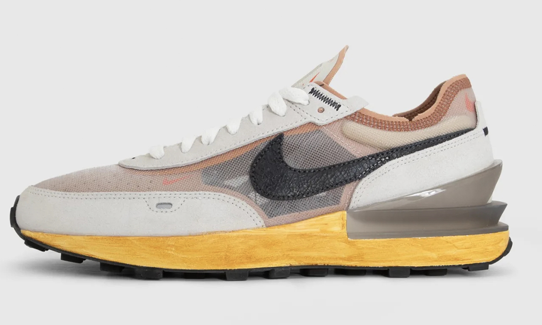 Social Status 将限量发行 500 双 The Whitaker Group x Nike Waffle One