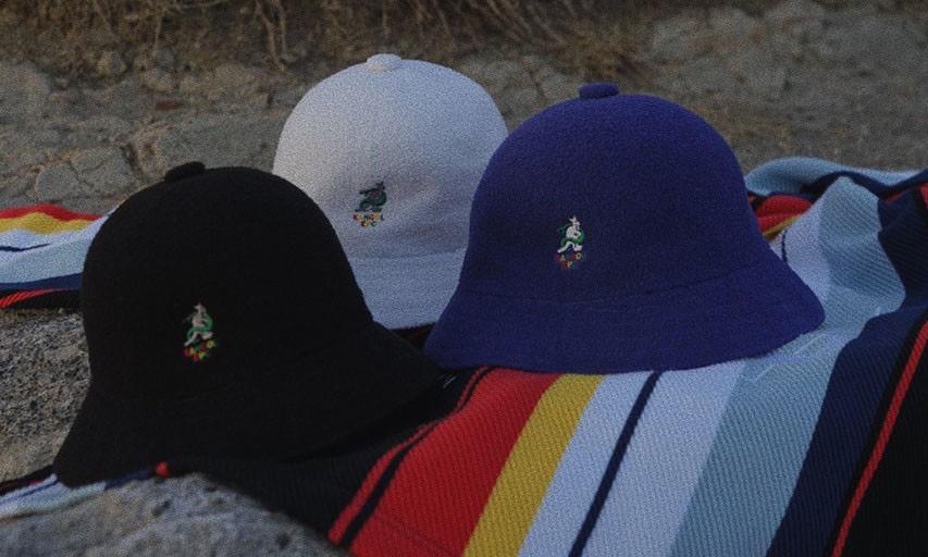 全新 logo 亮相,Zepanese Club x KANGOL 推出合作帽款系列