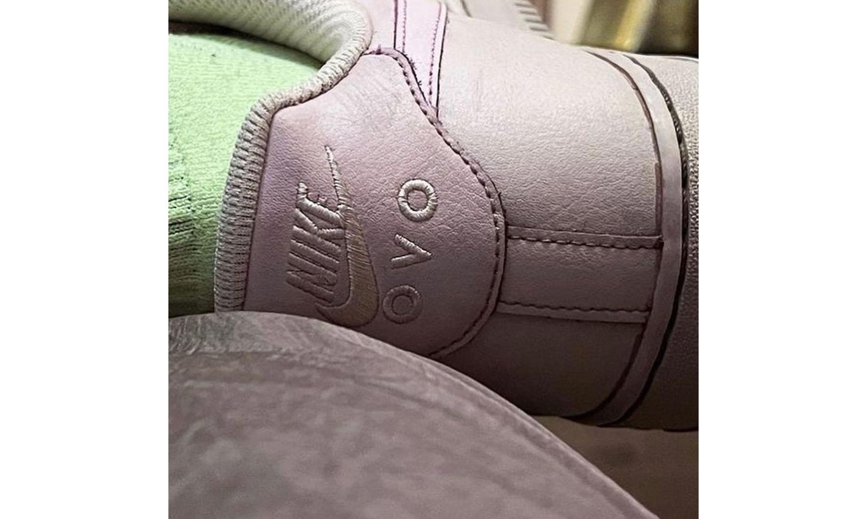 抢先预览 OVO x Nike Air Force 1