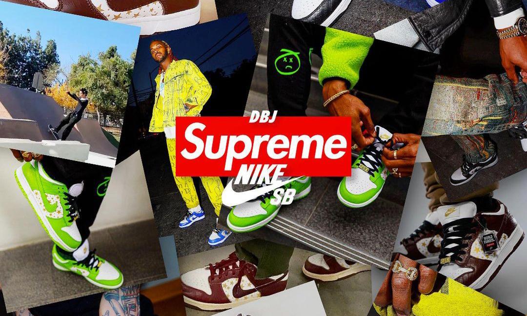 Supreme x Nike SB Dunk  Low 联名将在下周登场
