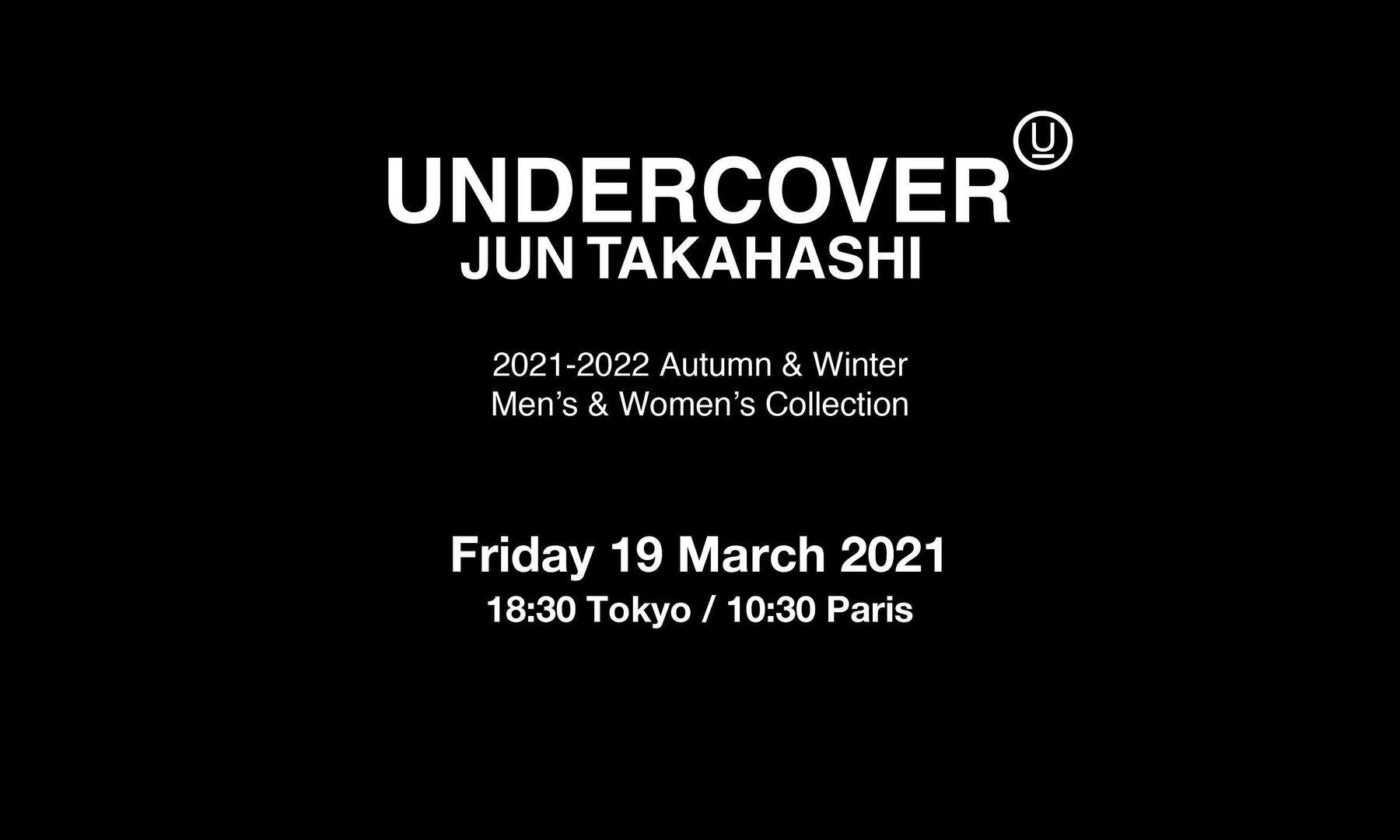 UNDERCOVER 将参与东京时装周全新「by R」项目