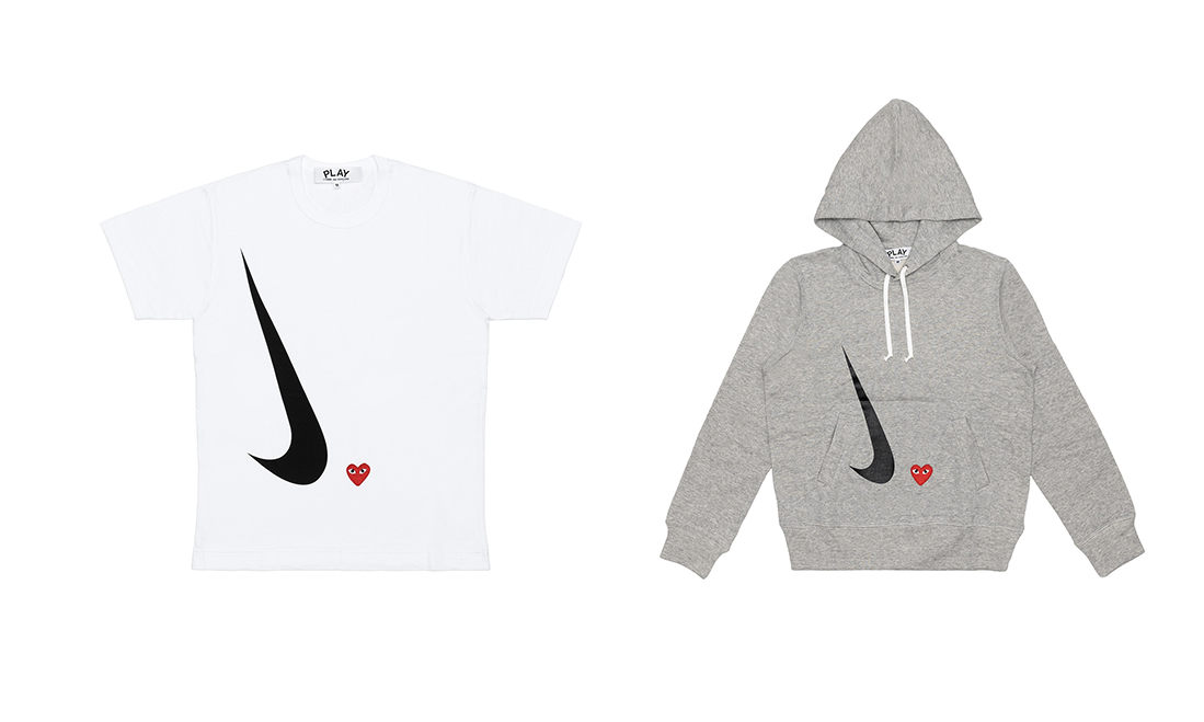COMME des GARÇONS PLAY x Nike「Play Together」服饰公布