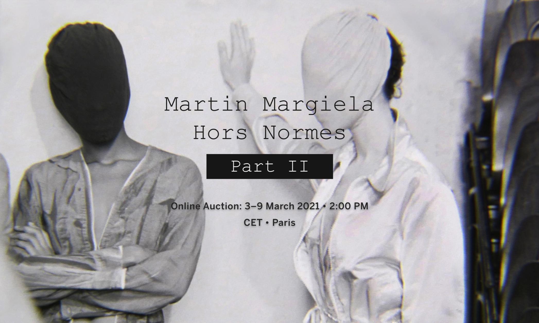 苏富比再度拍卖 Martin Margiela 近 200 件经典设计