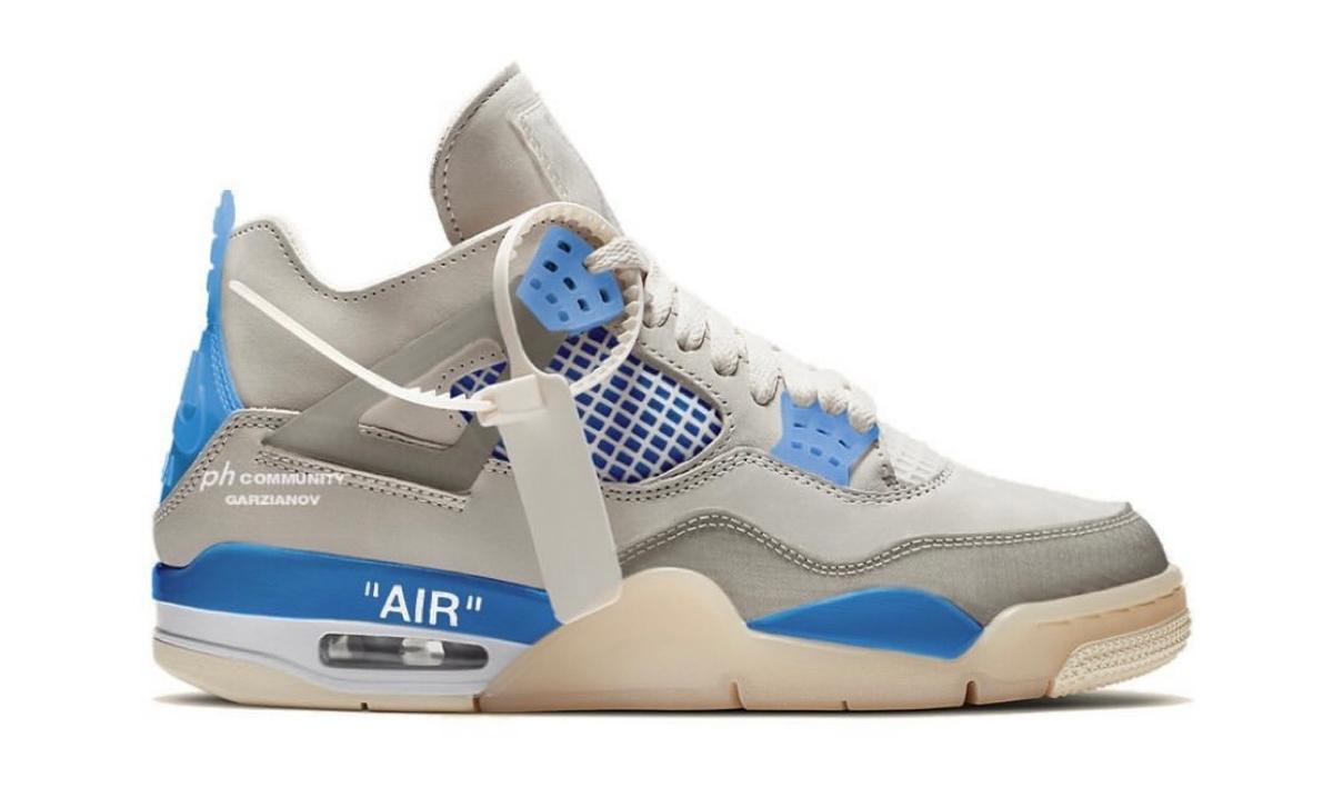 Off-White™ x Air Jordan IV 新配色曝光