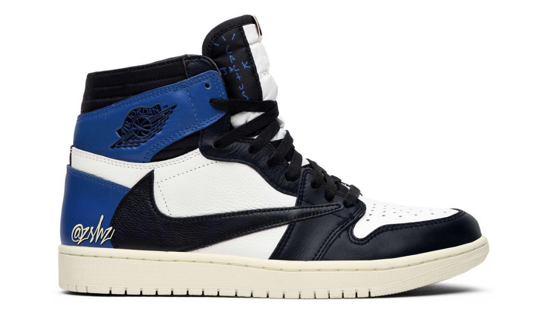 Travis Scott x fragment design x Air Jordan I High 概念图曝光