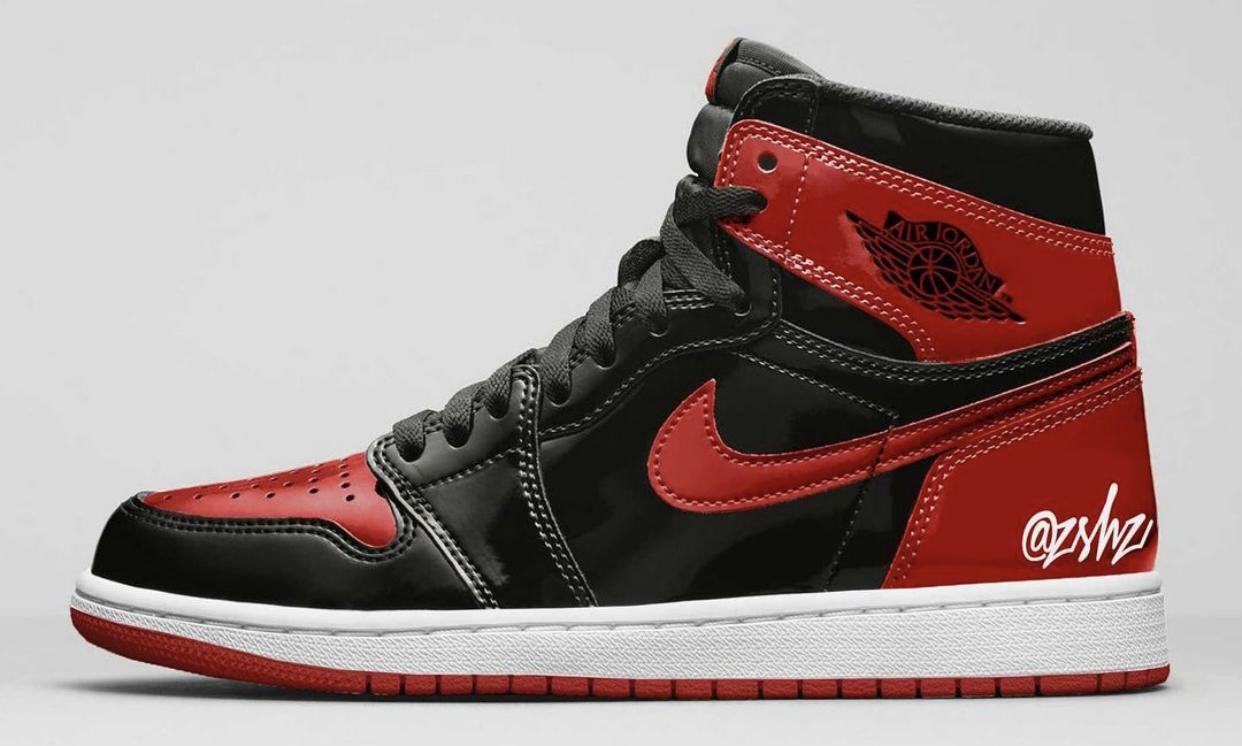 Air Jordan Ⅰ High OG「Bred Patent」或将于今年发售