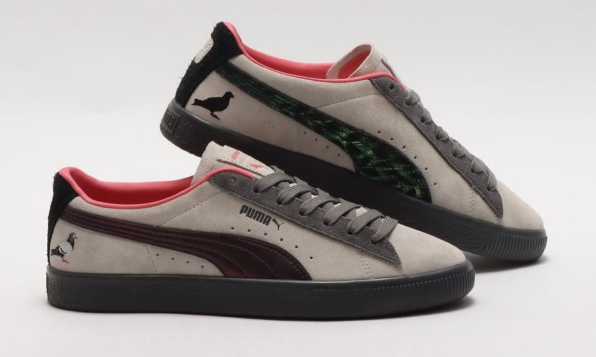 atmos x Staple x Puma「Pigeon And Crow」全貌释出