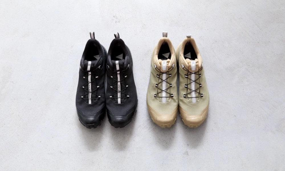 and wander x Salomon Crosshike 联名鞋款释出