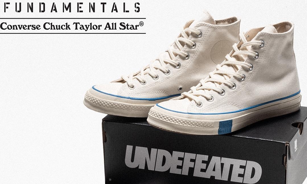 UNDEFEATED x CONVERSE Chuck 70 即将发售