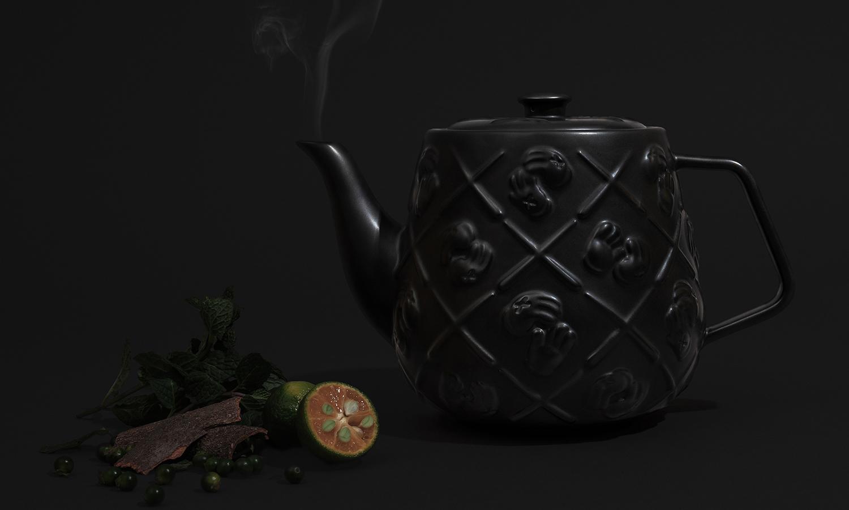 KAWS Teapot 黑魂来袭