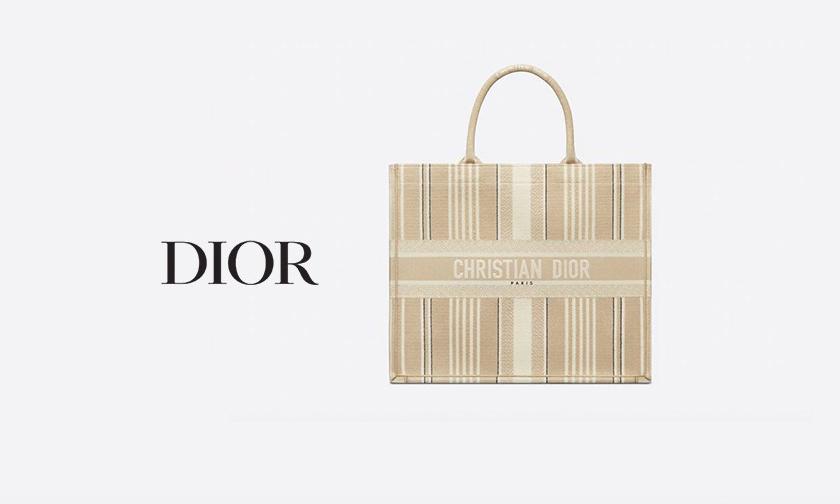 新款上市,DIOR 推出新款裸色调 Book Tote 包袋