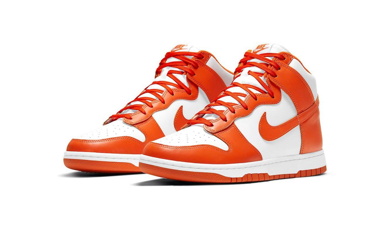Nike Dunk High「Syracuse」官图与发售日期释出