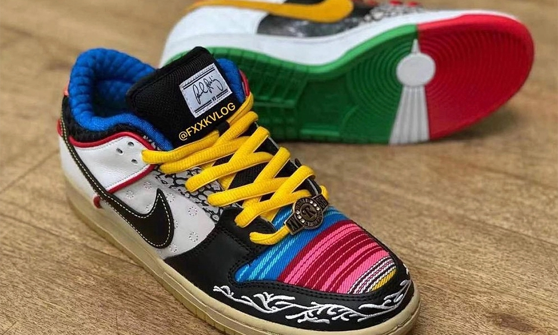Nike SB Dunk Low「What The P-Rod」新配色公开