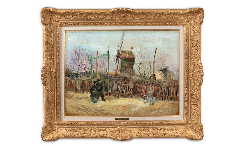 梵高 134 年前未公开画作拍出,成交价超一亿人民币