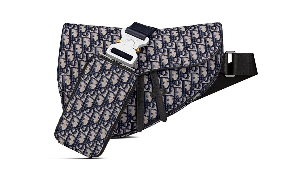 DIOR MEN 正式发布 2021 春夏系列 Maxi Saddle 包袋