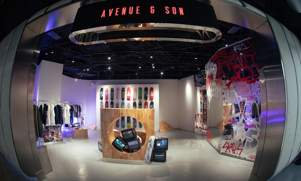 AVENUE & SON 北京 SKP-S Pop-Up Store 限时开催