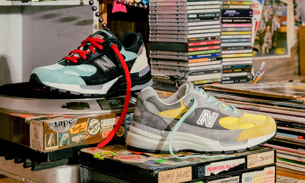 Nice Kicks x Amoeba Music x New Balance 992 即将发售