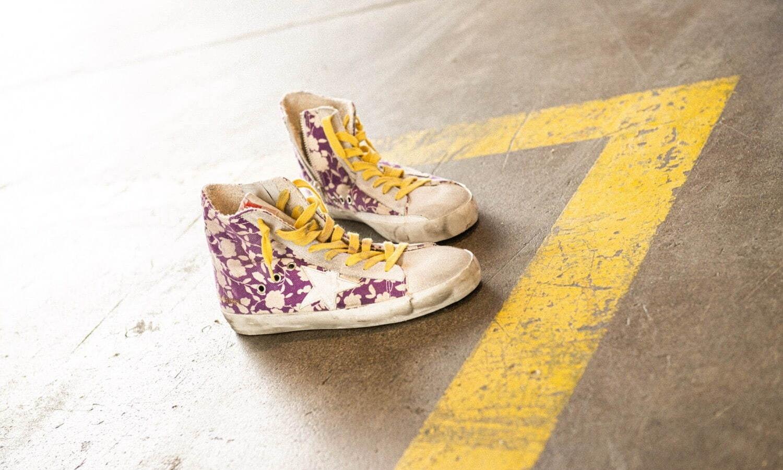 Golden Goose 推出「FRANCY」限量鞋款