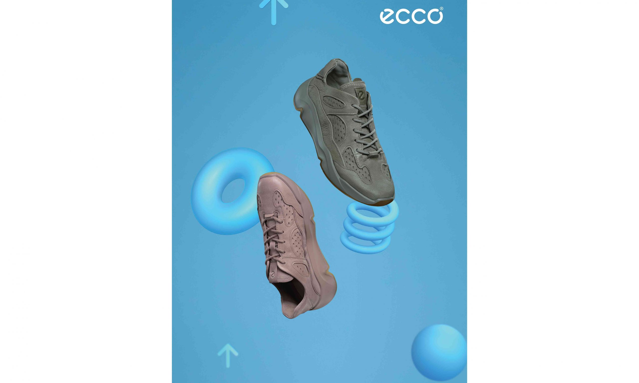 放我趣 HIGH,ECCO CHUNKY SNEAKER 潮趣系列登场
