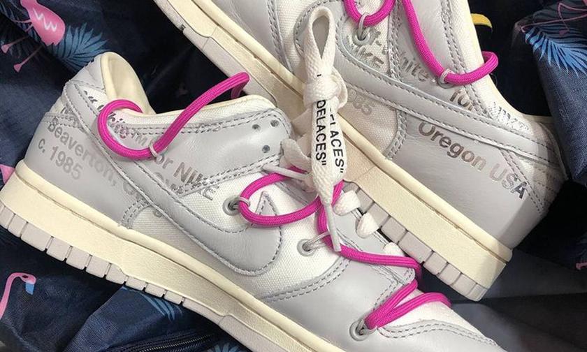 20 双还不够!Virgil Abloh 其实要做 50 个配色 Nike Dunk?