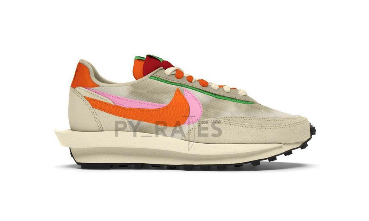 sacai x CLOT x Nike LDWaffle 新设计首度公开