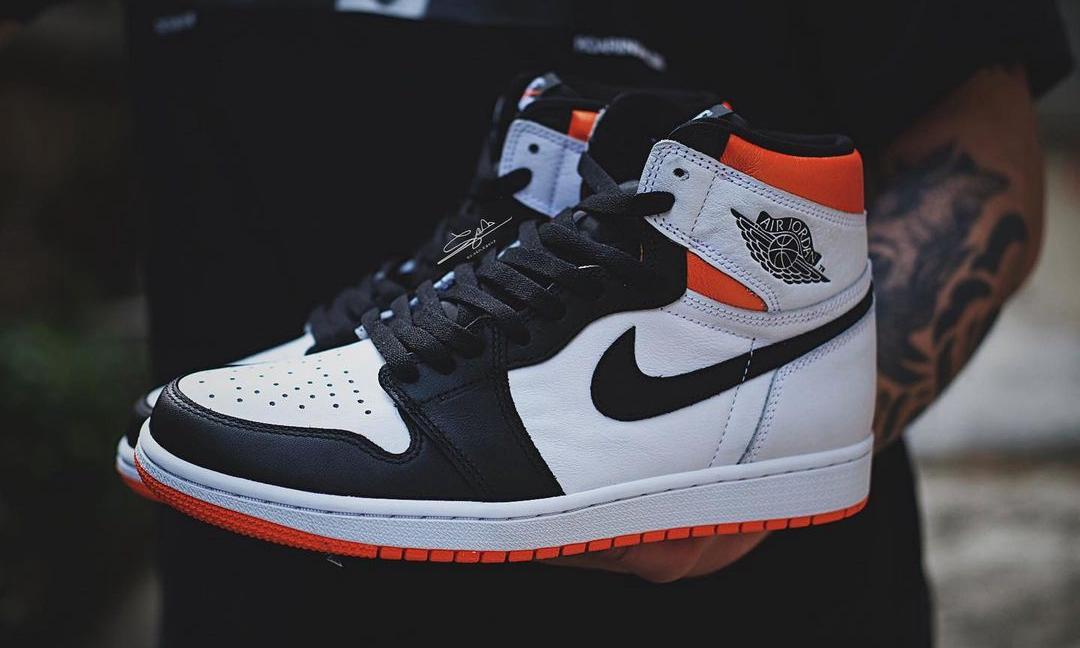 抢先预览 Air Jordan I High OG「Electro Orange」