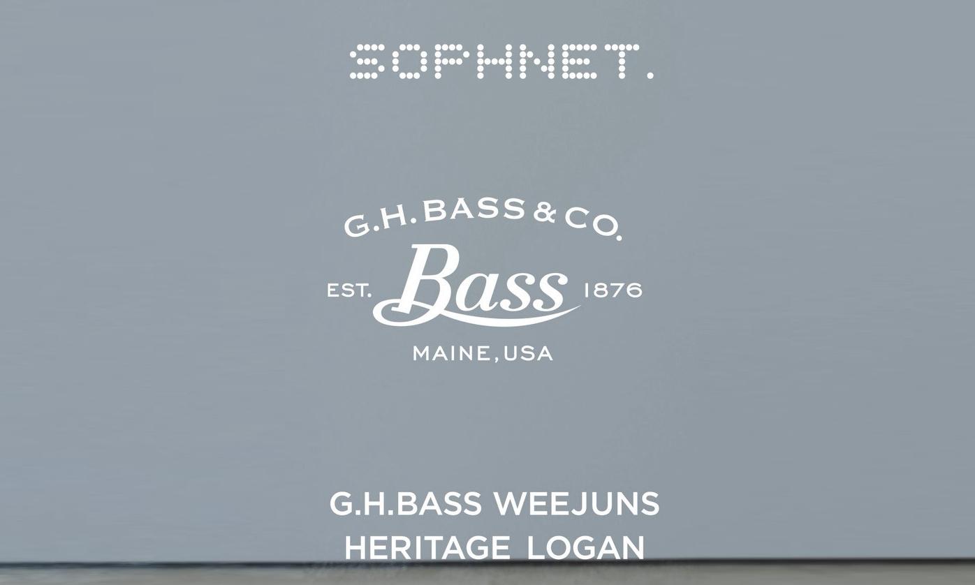 SOPHNET. x G.H.BASS 全新联乘企划公开