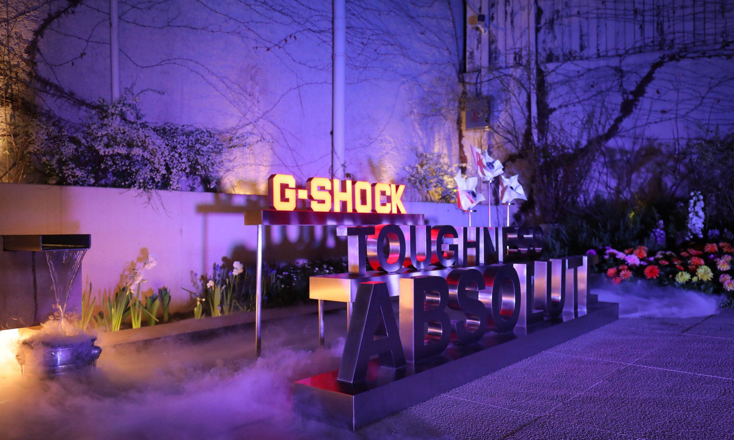 G-SHOCK 举办「冰韧」系列限时快闪店