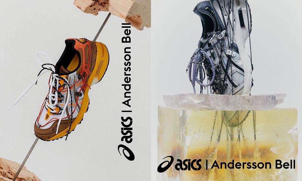 注入登山元素,Andersson Bell x ASICS 联名 GEL-1090 即将开售
