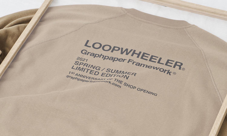 Graphpaper x LOOPWHEELER 全新合作登场