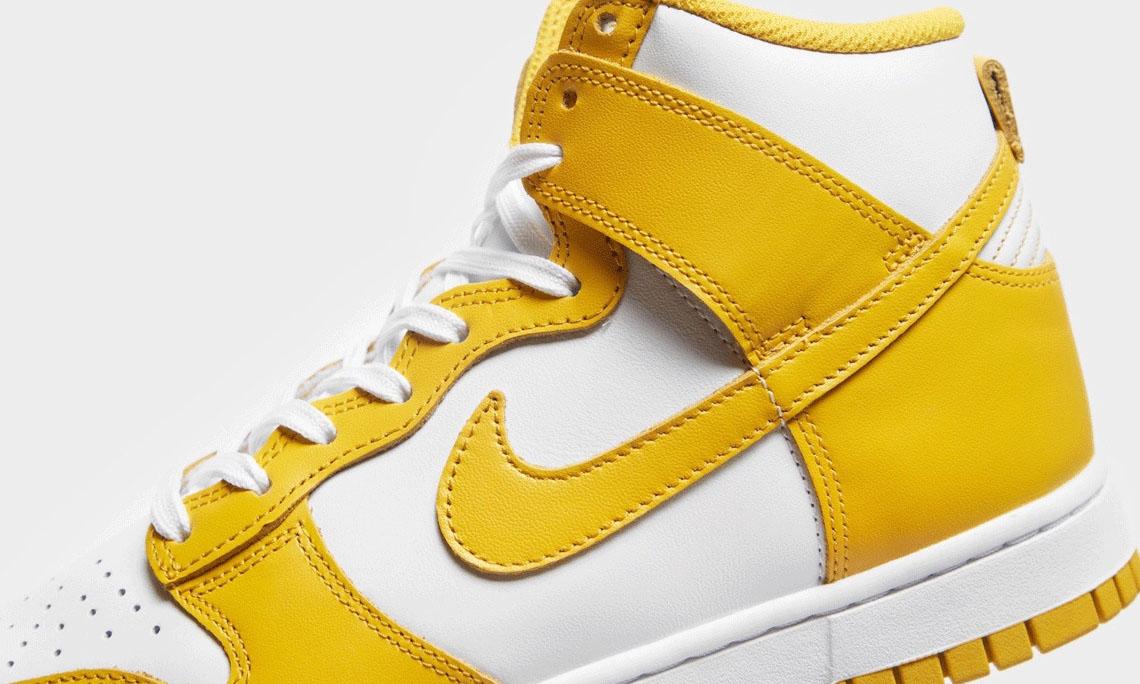 Nike Dunk High 新配色「Dark Sulfur」即将发售