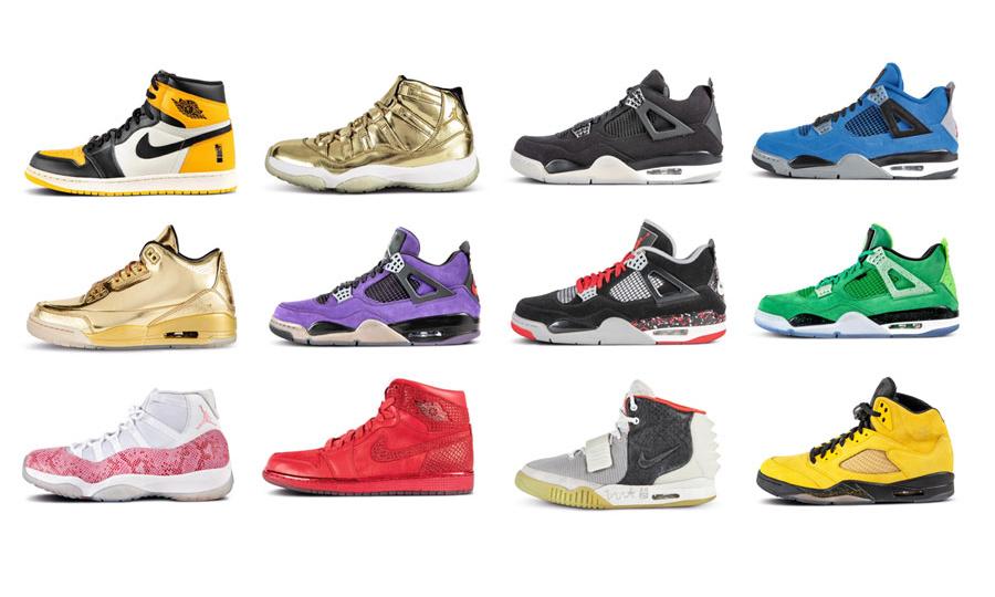 50 双激罕限定,苏富比「Scarce Air」球鞋拍卖企划开催