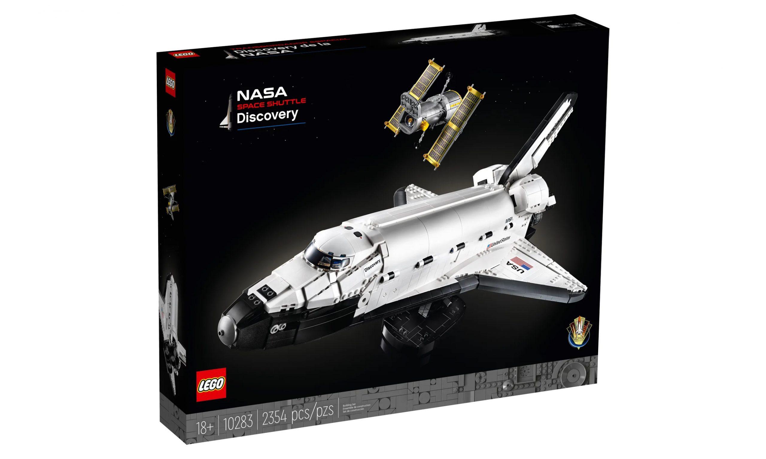 LEGO 推出 10283 NASA 发现号太空飞船盒组