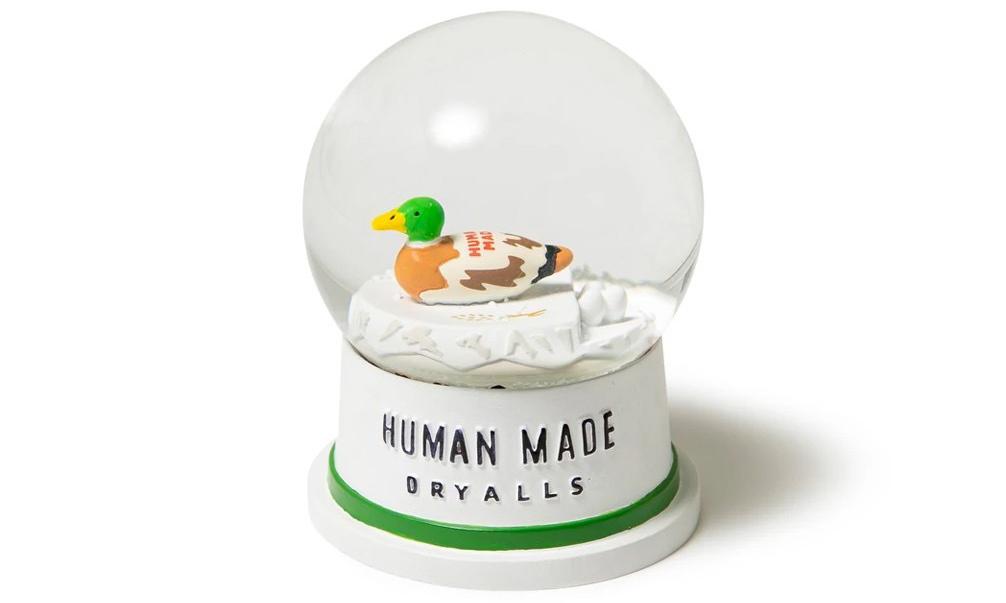 又一家居好物,HUMAN MADE 推出小鸭雪花玻璃球