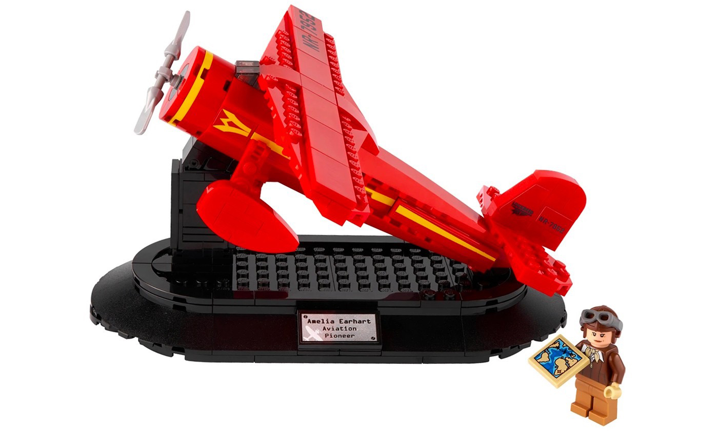庆国际妇女节,LEGO 推出「Amelia Earhart」飞机套组