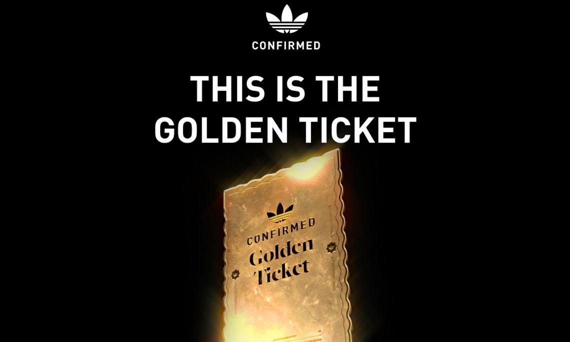 任意商品购买权?adidas「Golden Ticket」强势来袭